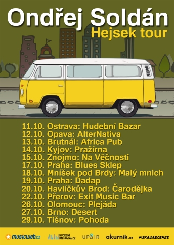 Hejsek tour poster